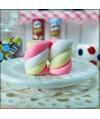 Pink Marshmallows Earrings