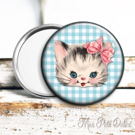 espejo-bolsillo-gato-vintage-pocket-mirror-button-badge-cat-kitten-