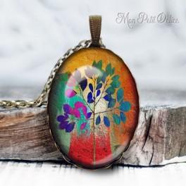 collar-colgante-arbol-floral-vintage-cabuchon-cristal-necklace-pendant-tree-floral-whimsical-bronze-cabochon-glass