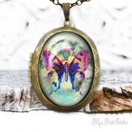 Camafeo-portafoto-vintage-mariposa-color-cabuchon-cristal-photo-locket-colorful-butterfly-cabochon-glass-tile-bronze