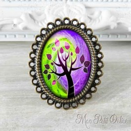 anillo-rococo-vintage-arbol-vida-lila-bronce-cabuchon-cristal-ring-cabochon-bronze-glass-purple-tree-life