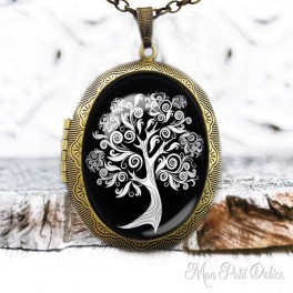 Camafeo-portafoto-relicario-vintage-arbol-vida-blanco-negro-cabuchon-cristal-photo-locket-tree-life-black-white-cabochon-glass