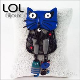 Broche-maru-gato-azul-esmalte-lol-bijoux-enamel-cat-chat-blue-brooch-lolilota