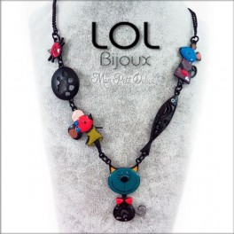 Collar-gato-tom-mimi-turquesa-esmalte-azul-lol-bijoux-enamel-necklace-raton-mouse-blue-cat-lolilota-collier-chat