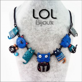 Collar-gato-maru-esmalte-azul-lol-bijoux-enamel-necklace-blue-cat-lolilota-collier-chat