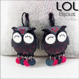 lol-bijoux-buho-gris-pendientes-esmalte-enamel-grey-owl-earrings-emaux-lolilota-chouette-hibou