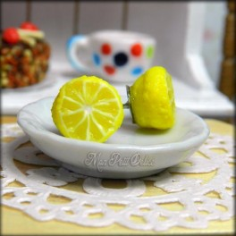 Lemon Fruit  Earrings