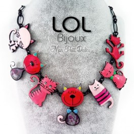 Collar-gato-tom-family-esmalte-rojo-lol-bijoux-enamel-necklace-red-cat-lolilota-collier-chat