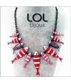 Collar-rojo-sardina-family-esmalte-gris-lol-bijoux-enamel-necklace-sardine-red-lolilota-collier