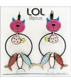 lol-bijoux-tom-sardine-gato-rosa-pendientes-esmalte-enamel-pink-cat-earrings-fish-chat-emaux-boucles-d'oreilles-lolilota
