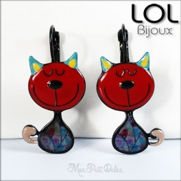 lol-bijoux-tom-gato-rojo-pendientes-esmalte-enamel-red-cat-earrings-emaux-boucles-d'oreilles-lolilota