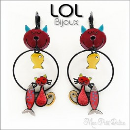 ol-bijoux-tom-sardine-gato-rojo-pendientes-esmalte-articulado-enamel-red-cat-earrings-chat-emaux-boucles-d'oreilles-lolilota