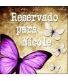 Reservado para Nicole