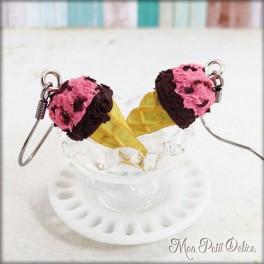 pendientes-helado-cucurucho-fresa-chocolate-fimo