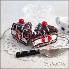 pendientes-pastel-tarta-chocolate-cereza-miniatura-fimo-dulce